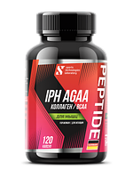 Комплекс STL BCAA Collagen IPH AGAA для женщин (мышцы), 120 капсул