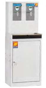 Диспенсер со шкафом, цифровым счетчиком и предварительными установками Meclube 027-1345-В00