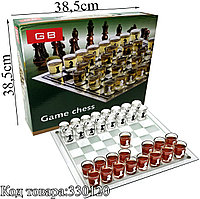 Алко-игра шахматы (Пьяные шашки) Game Chess BG 38,5х38,5см