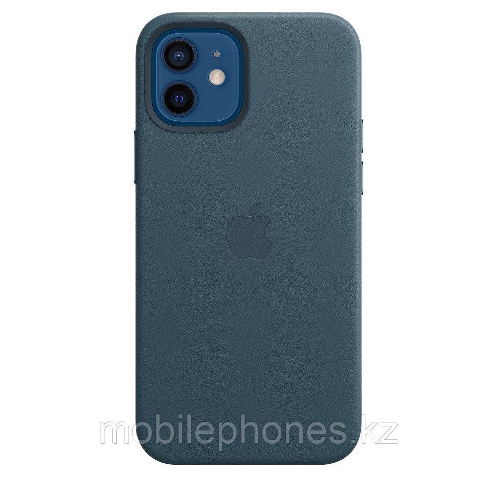 Оригинальный Кожаный чехол MagSafe для iPhone 12 и iPhone 12 Pro