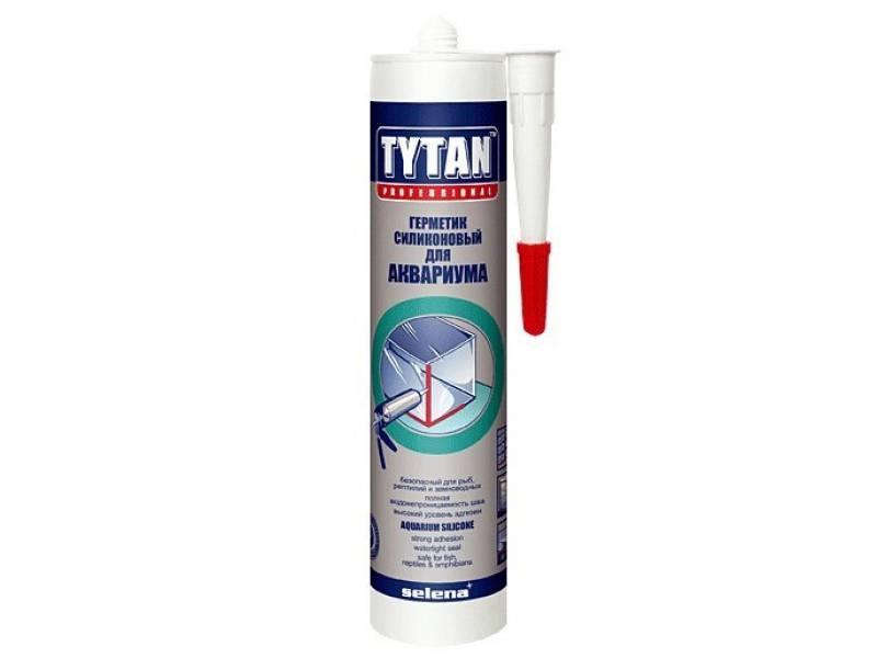 TYTAN герметик для аквариума и стекла (310 мл) беcцветный (КНР)