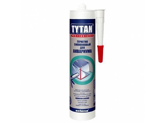TYTAN герметик для аквариума и стекла (310 мл) беcцветный (КНР), фото 2