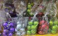 Кулёк Шоколадные новогодние игрушки на Ёлку в ассортименте  100гр