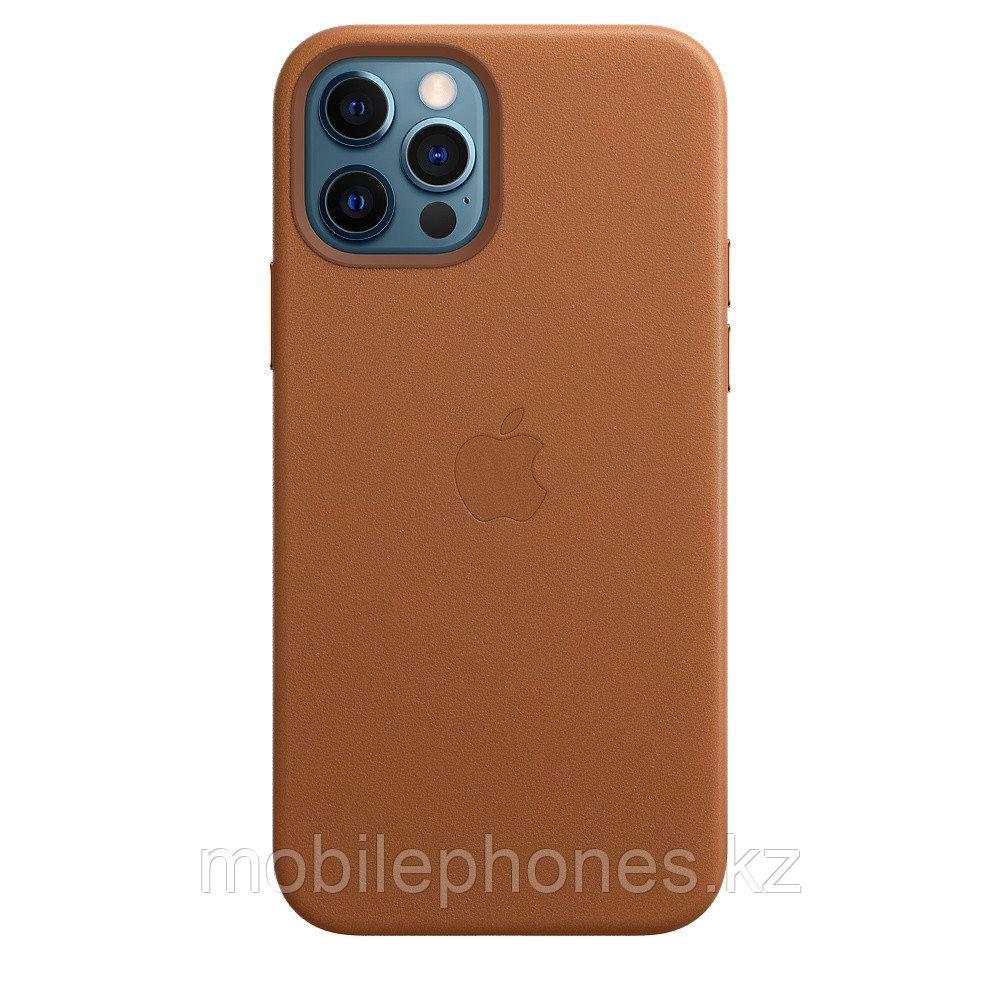 Оригинальный Кожаный чехол MagSafe для iPhone 12 Pro Max