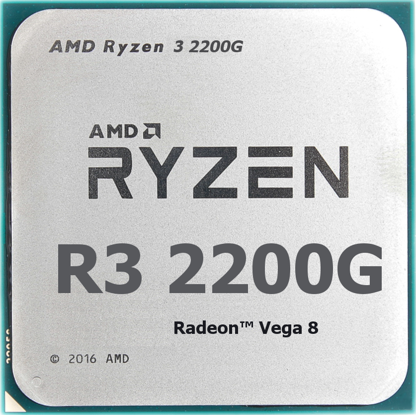 Процессор AMD Ryzen 3 2200G 3,5Ghz