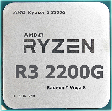 Процессор AMD Ryzen 3 2200G 3,5Ghz, фото 2