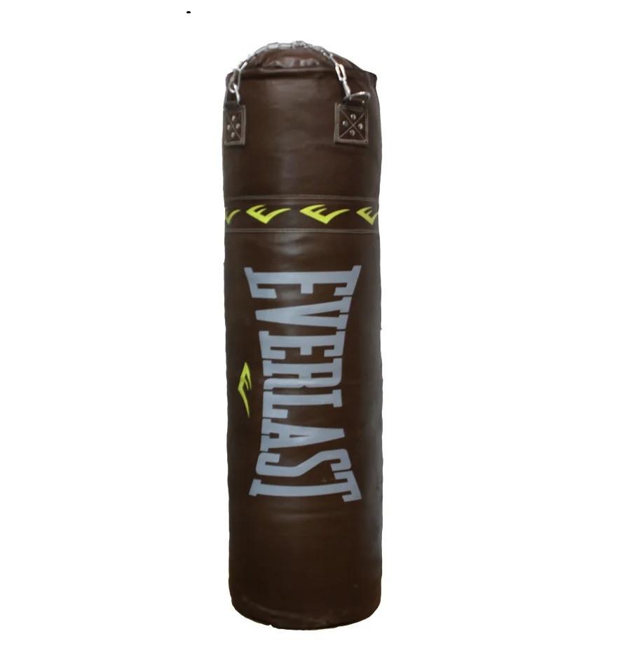 Боксерский мешок EVERLAST из натуральной кожи (130х45см, 60кг)