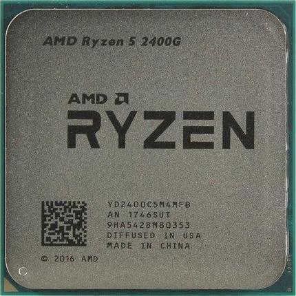 Процессор AMD Ryzen 5 2400G 3,6Ghz, фото 2