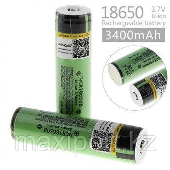 Аккумулятор Panasonic Li-ion 18650 MH12210 3.7V 3400mAh, фото 2