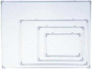 Доска магнитно-маркерная 60x90см, алюминиевая рамка Data Zone
