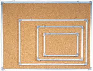 Доска пробковая 90x150см, алюминиевая рамка Data Zone