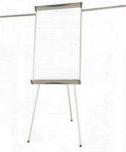 Доска-флипчарт 70x100см, магнитно-маркерная, 2 держателя, 3ножки, Data Zone