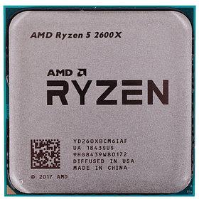 Процессор AMD Ryzen 5 2600X 3,6Ghz (4,2Ghz Turbo)