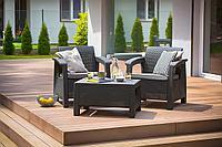 Комплект мебели под искусственный ротанг Корфу Балкон