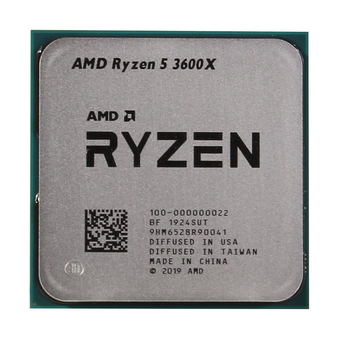 Процессор AMD Ryzen 5 3600 3,6Ghz (4,2Ghz Turbo)