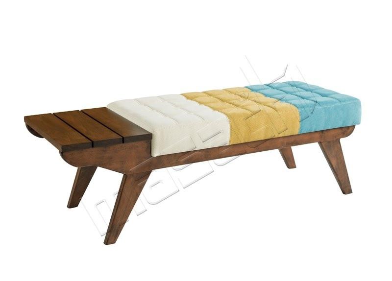 Woodpuf Uclu Bekleme L: 149 / D: 52 / H: 48
