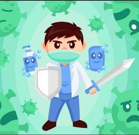 Средства для здоровья, гигиены и защиты от вирусов