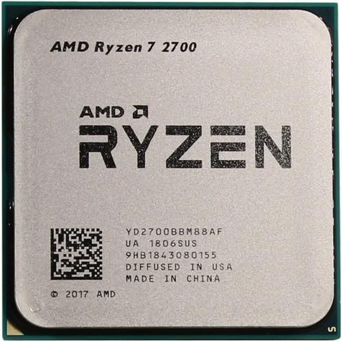 Процессор AMD Ryzen 7 2700 3,2Ghz (4,1Ghz Turbo)