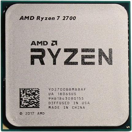 Процессор AMD Ryzen 7 2700 3,2Ghz (4,1Ghz Turbo), фото 2