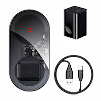 Беспроводное зарядное устройство Baseus Simple 2-in-1 Wireless Charger Turbo Edition 24W (with 12V CN Charger), фото 1