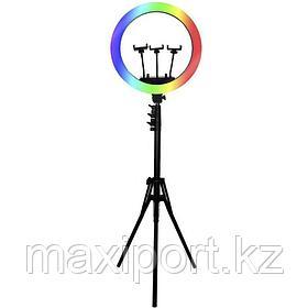 RGB Лампа Кольцевая yd460 Со Штативом и пультом на шнуре Ring Light  LED 18 дюймов