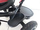 """Велосипед трехколесный """"Toy"""" с родительской ручкой, фонарем и мелодиями., фото 2"""