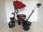 """Велосипед трехколесный """"Toy"""" с родительской ручкой, фонарем и мелодиями., фото 6"""