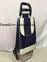Продуктовая сумка-тележка на колесах.Высота 98 см,ширина 35 см, глубина 25 см., фото 1