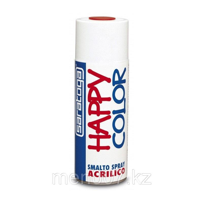 Быстросохнущая глянцевая спрей-эмаль  Happy Color Acetic Spray, 400 мл