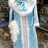Новогодний костюм  Снегурочки, фото 7