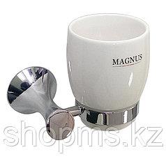 Стакан керамический с креплением MAGNUS 85005