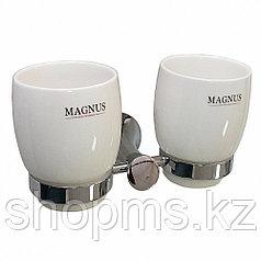 Стакан керамический с креплением 2-ой MAGNUS 85160