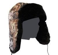 Шапка меховая смесовая ткань (БК)