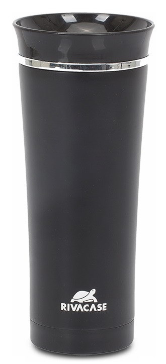 Термокружка RIVACASE Vacuum travel mug 90343BK (Black, 450мл)