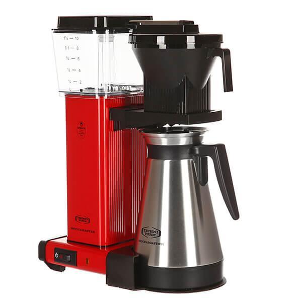 Кофеварка Moccamaster KBGT, красный