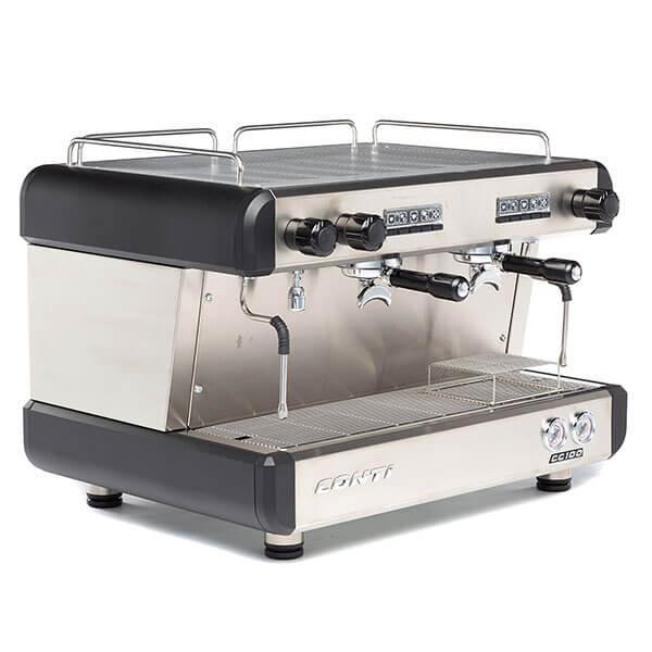 Кофемашина CONTI CC100 Стандарт 2 группы черная