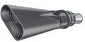 Насадка газоприёмная 100 мм. из каучука овальная Aerservice BGO20000100140