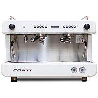 Кофемашина Conti CС200 С Дисплеем 2 Группы Белый, фото 1