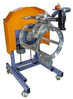 Станок для обточки новых тормозных колодок, установленных на ступицу Comec TCE560