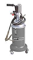 Нагнетатель солидола мобильный с пневмоприводом KraftWell KRW1798.PN
