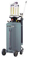 Установка для откачки масла/антифриза с прозрачной мерной емкостью, мобильная KraftWell KRW1837.80