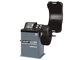 Балансировочный станок с ручным вводом параметров и цифровым дисплеем KraftWell KRW240