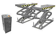 Подъемник ножничный короткий г/п 3200 кг. заглубляемый KraftWell KRW3.2U