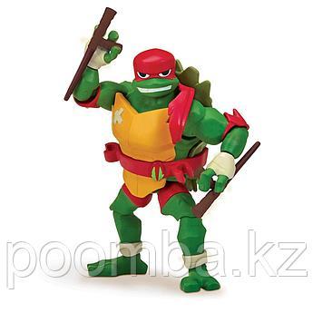 Фигурка Черепашек Ниндзя TMNT Рафаэль с боевым панцирем