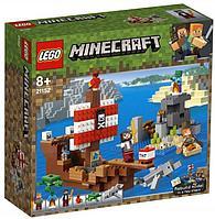 LEGO Minecraft: Приключения на пиратском корабле 21152