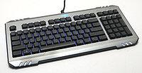 RAZER Клавиатура USB RAZER RZ03-0044 Серебристый и Черный Проводное RU/EN мультимедийная FN 2014 StarCraft II