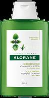 KLORANE Себорегулирующий шампунь с экстрактом крапивы, 200мл промо набор 1+1 (50%) скидка