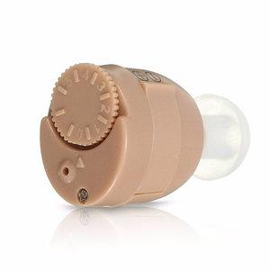 Слуховой аппарат миниатюрный внутриушной POWERTONE с 4 видами вкладышей