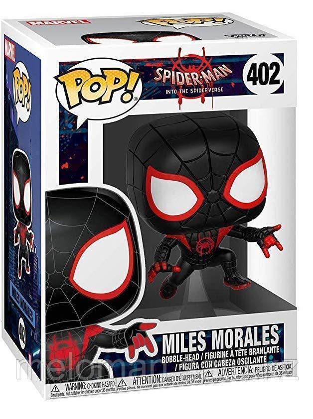 Фигурка Funko POP! Bobble: Marvel: Animated Spider-Man: S-M Miles 33977 - фото 3
