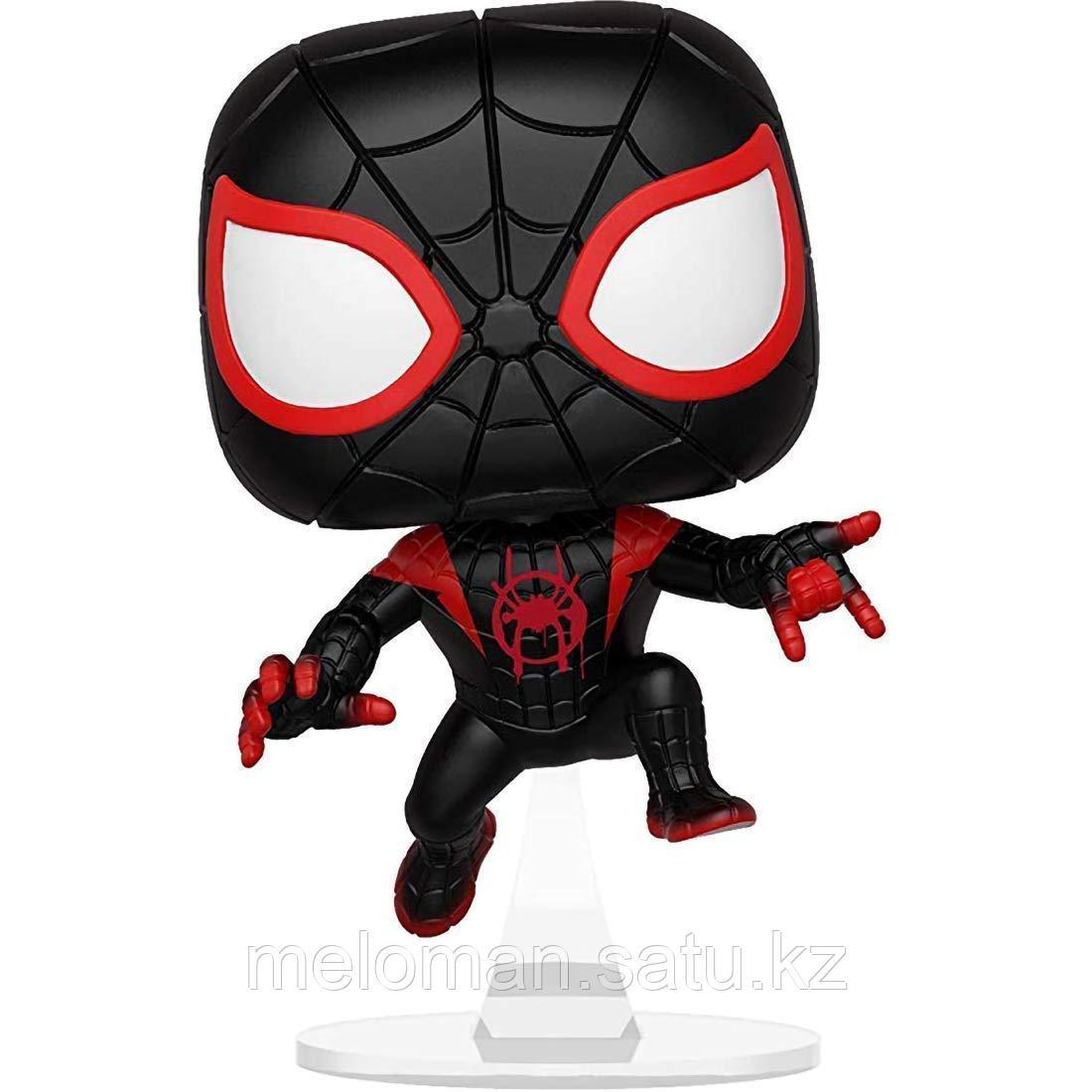 Фигурка Funko POP! Bobble: Marvel: Animated Spider-Man: S-M Miles 33977 - фото 4